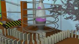 Waking Up Right - A Rube Goldberg Machine