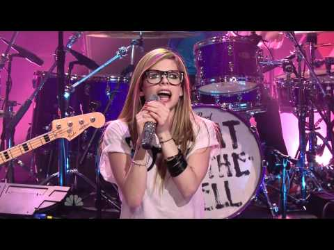 Avril Lavigne - WTH Live on Tonight Show