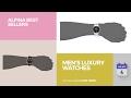 Men's Luxury Watches Alpina Best Sellers