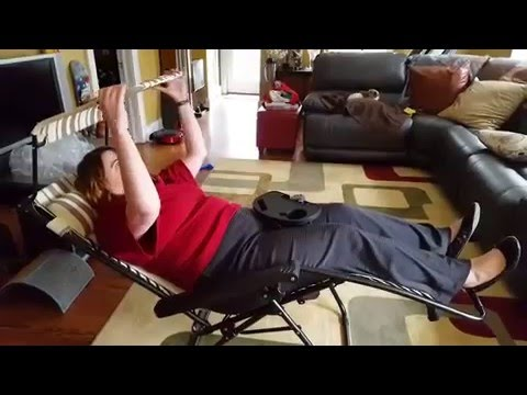zero gravity chair reviews travel slacker stool sundale folding review youtube
