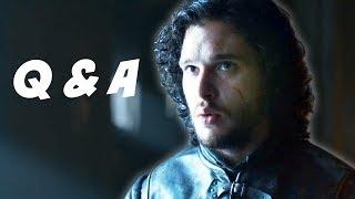Game Of Thrones Season 4 Q&A - Jon Snow's Mother Edition