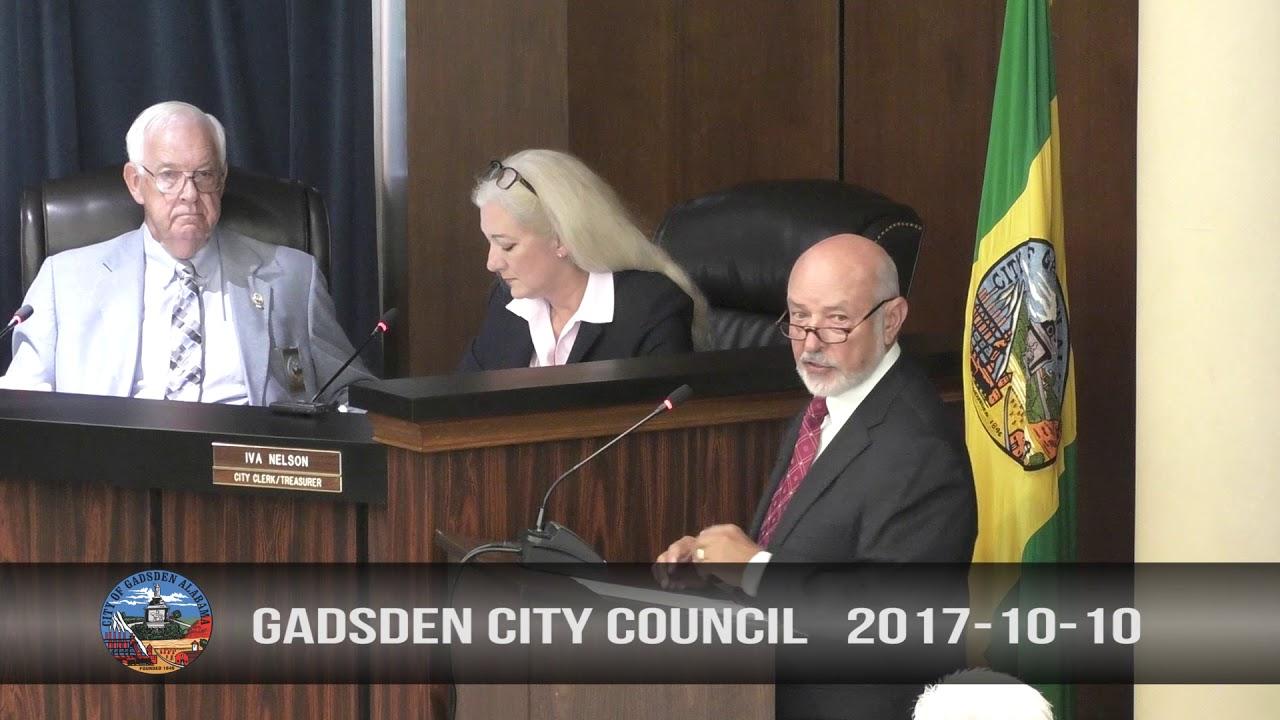 Gadsden City Council 2017-10-10 - YouTube