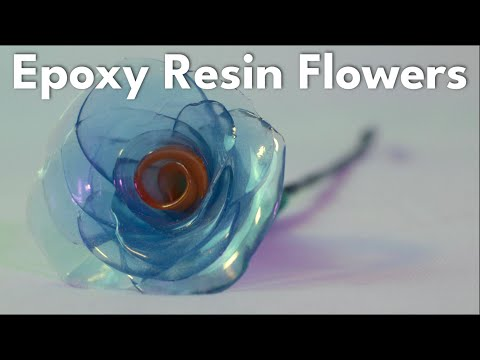 How to Make Bent Epoxy Flowers