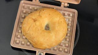 와플기계 와플팬 베이글 / waffle maker - …