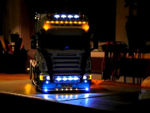 Rc Scania 620 6x2 Light Test Youtube