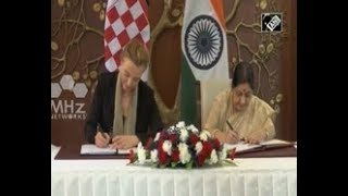 India News - India, Croatia agree to have trade, technology cooperation in New Delhi