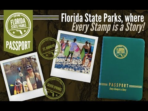 Florida State Parks, where EVERY STAMP IS A STORY.