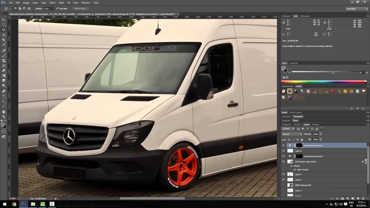 tuning auto mercedes sprinter