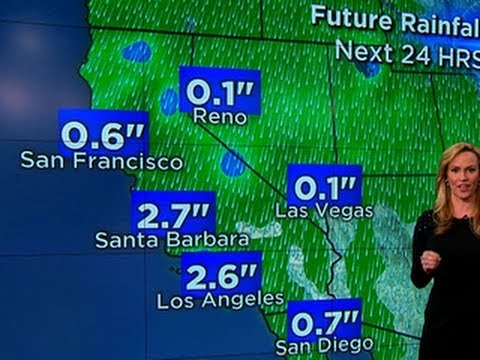 Arctic air persists as West Coast fears flooding