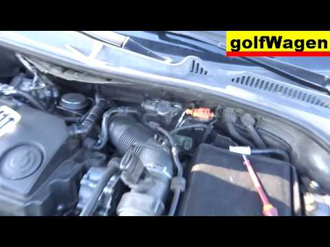 VW Golf 5 1.9 TDI BLS sensors & control valve for Turbo, EGR, AIR