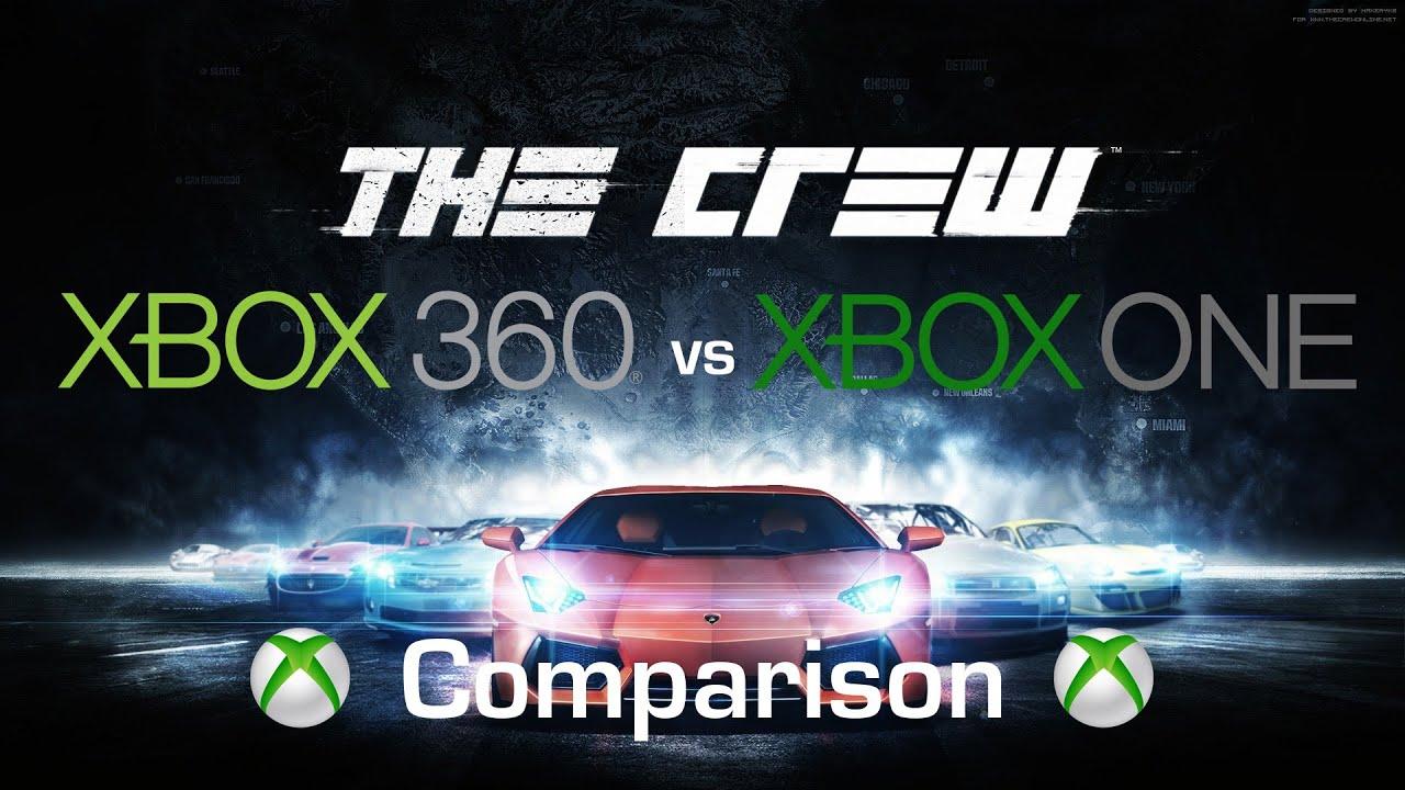 the crew xbox 360 vs xbox one graphics comparison. Black Bedroom Furniture Sets. Home Design Ideas