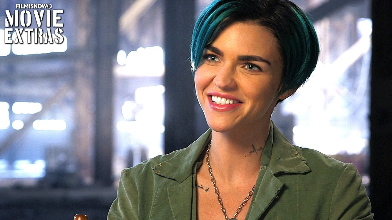 On-set Visit With Ruby Rose