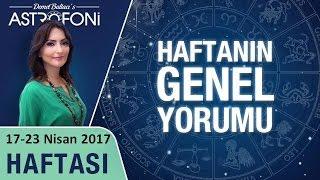 Genel Haftalık Astroloji Burç Yorumu 17-23 Nisan 2017