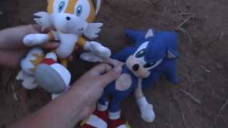 Sonic Plush Adventures-The Beach