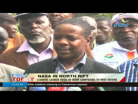 NASA leaders launch door to door campaigns to woo voters