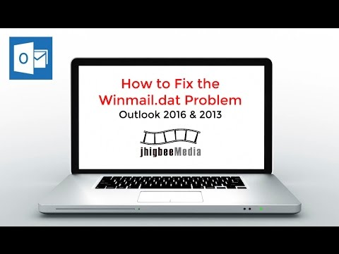 How to Fix the Winmail.dat Problem for Email Attachments