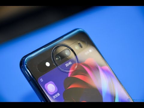 VIVO NEX双屏版 首发十分钟的真机上手体验 超越iPhone的支付级别安全的TOF人脸解锁 我们还拿出来第一款双屏手机YOOAPHONE做对比