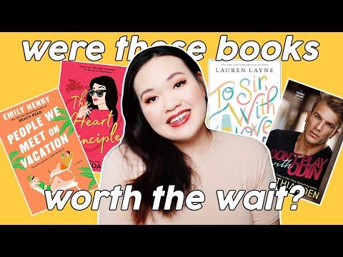 FINALLY Reading My Most Anticipated Romance Books