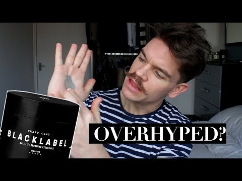 A New Favourite Hair Clay? | Black Label Craft Clay Review - OVERHYPED?