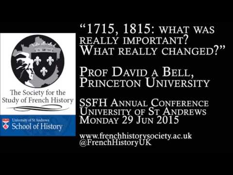 Prof David A Bell,
