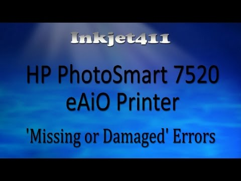 HP Photosmart 7520 Error Troubleshooting
