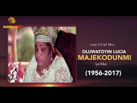 LATE ACTRESS, OLUWATOYIN MAJEKODUNMI BURIAL CEREMONY (Nigerian Music & Entertainment)