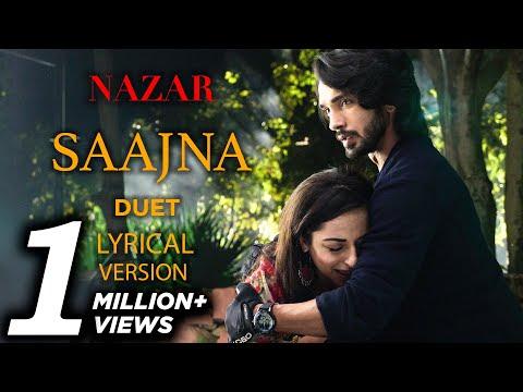 Nazar Song Saajna Ansh and Piya Karaoke Lyrics Duet Piyansh Version | Male Female Full