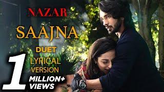 Download Nazar Song Saajna Ansh and Piya Karaoke Lyrics Duet Piyansh Version | Male Female Full
