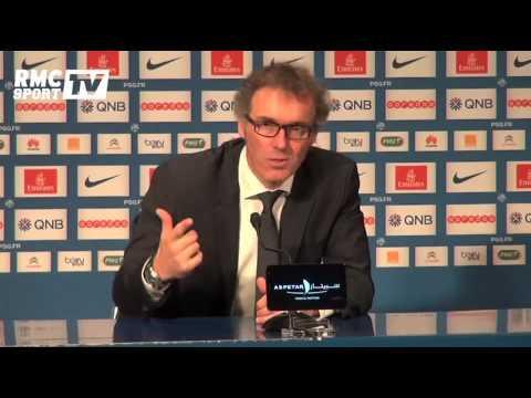 Football / Laurent Blanc agacé en conférence de presse - 29/11