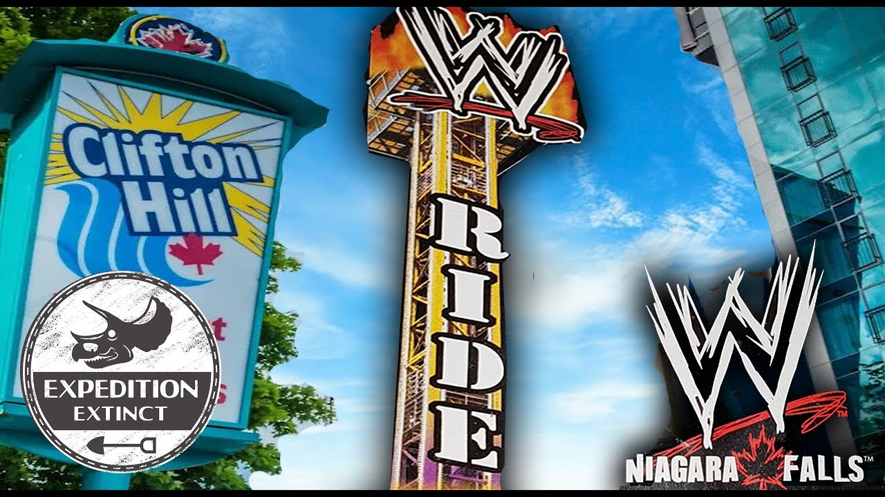 The Failed WWE Niagara Falls & The Only WWE Attraction Ever Made: Extinct Piledriver Drop Tower