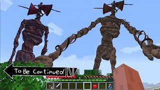 This is Real SIREN HEAD in CURSED Minecraft To Be Continued part 2 Scooby Craft @Scooby Craft Faviso