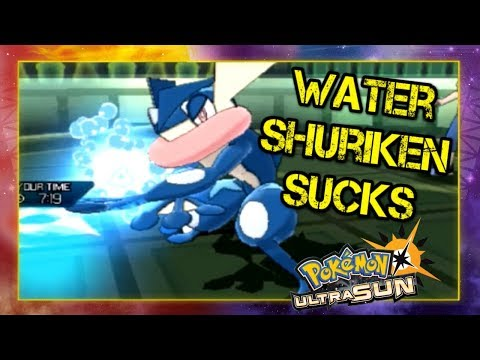 Pokemon Ultra Sun and Moon Battle Spot Singles Highlights - Water Shuriken Sucks