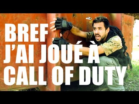 Bref j'ai joué à call of duty avec diablox9 (parodie bref)