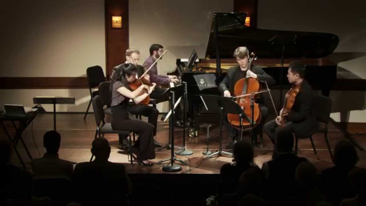 Inside Chamber Music with Bruce Adolphe - Brahms Quintet in F minor. Op. 34