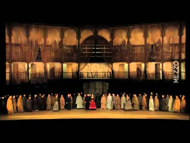 CARMEN Paris-Bastille Opera, conductor: Frédéric Chaslin. Béatrice Uria-Monzon, Sergei Larin