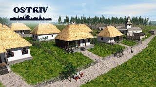 Новая градостроительная стратегия Ostriv! Обзор и первый взгляд👍