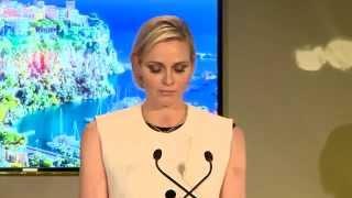 S.A.S. la Princesse Charlène s'engage pour les femmes