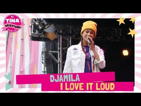 Djamila - I love it loud | Tina Festival 2018 | TinaTV