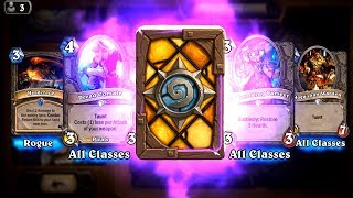 Patient Assassin and Headcrack - Classic Hearthstone epic and rare card pack opening