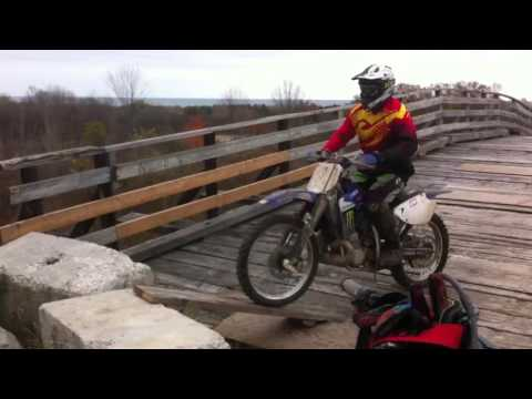 Newtonville dirt biking