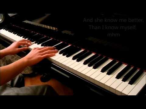 Simply Amazing (Trey Songz) - Piano Cover [With Lyrics]