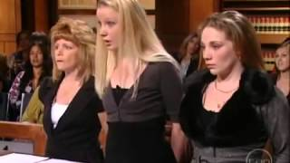 Stupid Blonde Girl Gets Owned On Judge Judy                          Judge Judy really let this gir