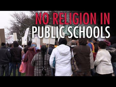 Parents protest Islamic prayer in public school