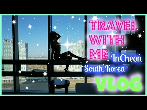 NEW (Week 1) Hotel Room Tour | Incheon, South Korea| Travel with me | Winter 2017 | Franklyimbekable