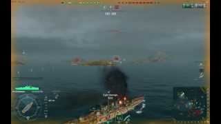 World of Warships: Pre Open Beta Tier 4 Ishizuchi Japanese Battleship