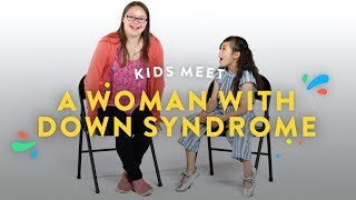 Kids Meet a Woman with Down Syndrome | Kids Meet | HiHo Kids