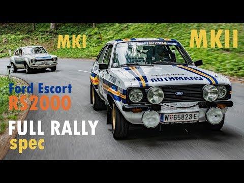 Ford Escort RS2000 (MK1 vs MK2) - Davide Cironi Drive Experience (SUBS)