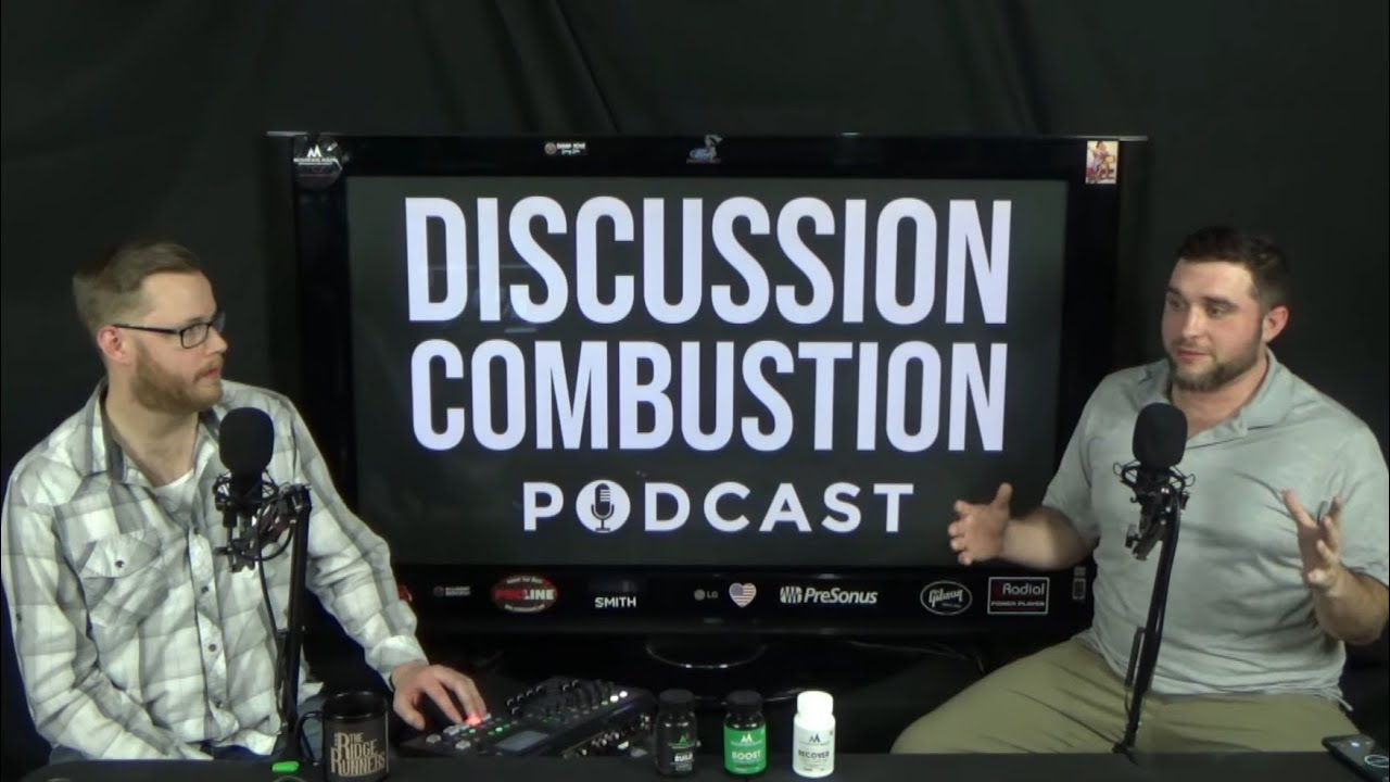 Discussion Combustion Podcast   Episode 047 - Solo video debut