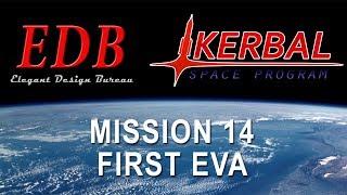 Kerbal Space Program EDB Mission 14 - First Titan Station EVA