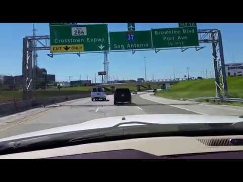 Police Officer Driving Erratically in Corpus Christi - March 27, 2015